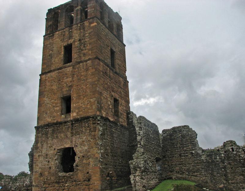 Panama vieja ruins