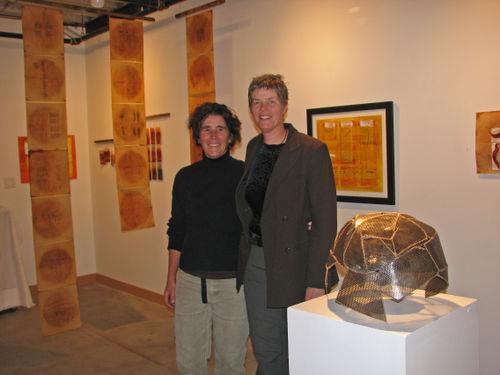 Heidi w Donna and art