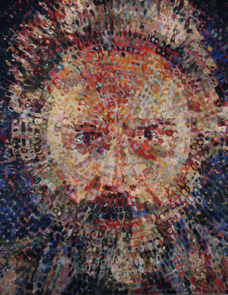 chuck close rug 1 The Intriguing Case of Chuck Close