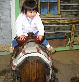 Clio_in_saddle