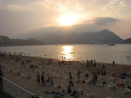 Ss_la_concha_sunset