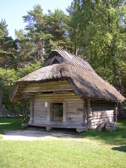 Early house in the Open Air Museum