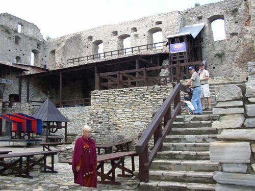 Inside the Haapsalu Castle ruins