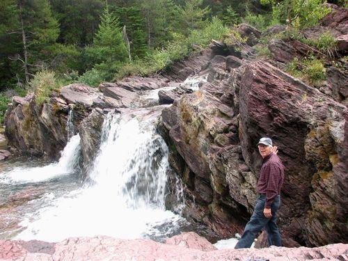 Bob at the falls