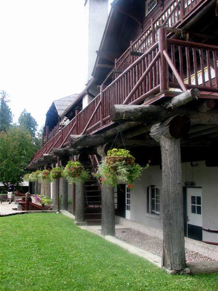 Side Entrance of McDonald Lodge