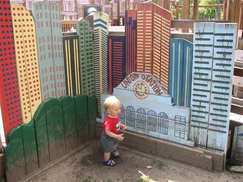 Ethan at City Park Playground